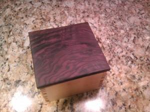Box 11 Maple and Black Walnut - B