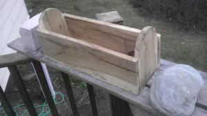 Box 6 Tombstone Oak Planter A