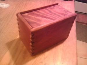 Box 13 Cherry Fingers Redwood Top - C